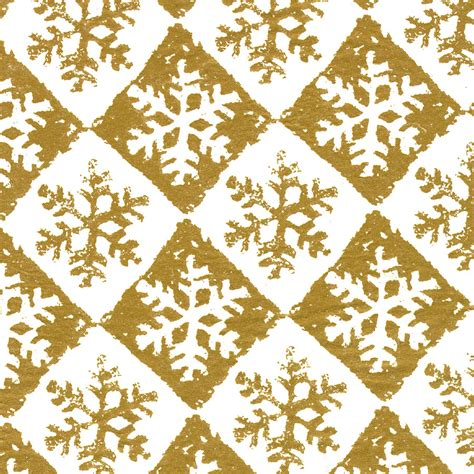pattern paper next day delivery gold chequered snowflake design christmas tissue paper