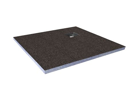 aquadry corner drain shower tray l 1 2m w 1200mm