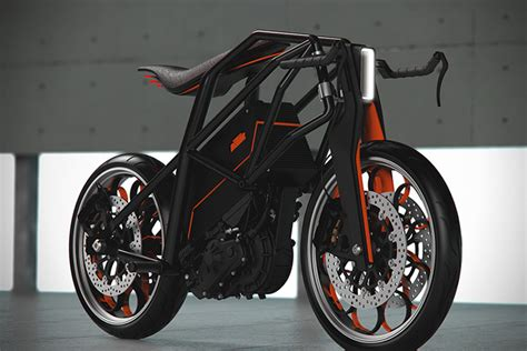 Ktm Electric Motorcycle Ktm Ion Electric Motorcycle Hiconsumption