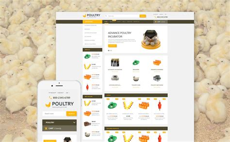 shopify themes for large inventory poultry supplies shopify theme
