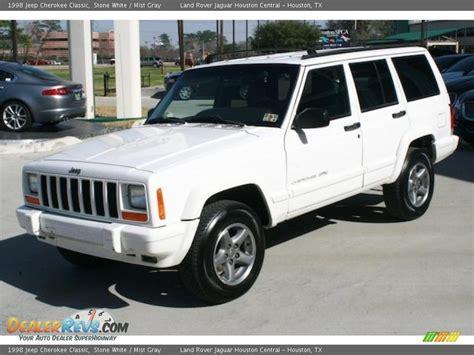 1998 jeep white 1998 jeep classic white mist gray photo