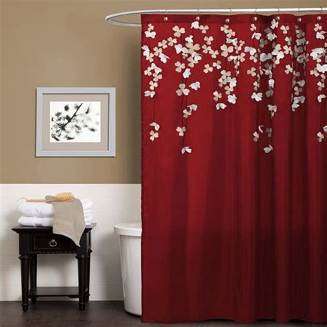 red shower curtain 17 best images about anna s linens and more on pinterest