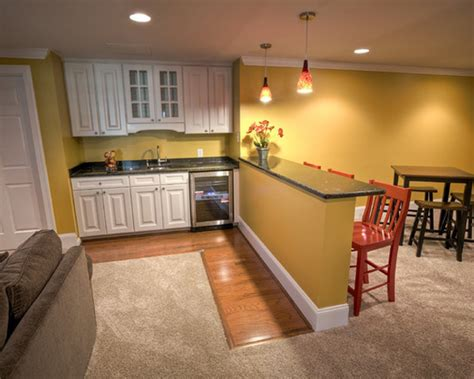 basement kitchen designs basement apartment photo basement of an apartment building is built with walls made