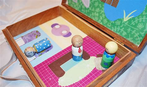 peg doll house handmade gifts peg dolls clumsy crafter