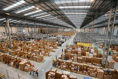 amazon warehouse a 21st century santa s grotto the amazon warehouse