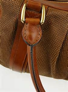 Brown Leather Studded by Burberry Prorsum Brown Leather Studded Bag Yoogi