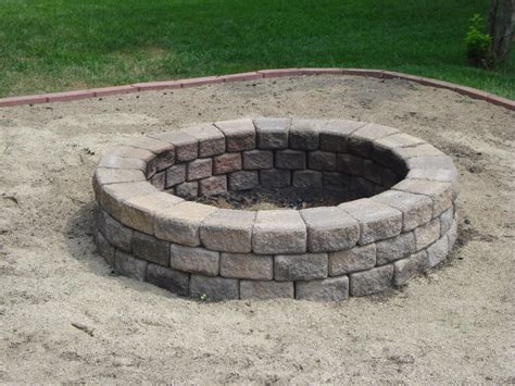 fire pits backyard triyae com backyard sand fire pit various design