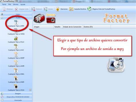 format factory que es yahoo el blog de maixua format factory portable conversor
