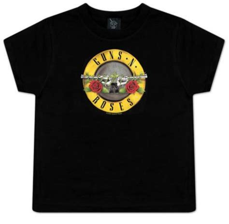 Tshirt Guns N Roses 2 guns and roses toddler t shirt bullet