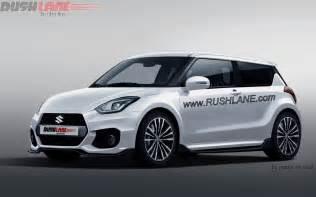 White Suzuki Sport Upcoming Suzuki Rendered As Third Sport Model
