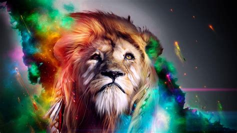 Wallpaper Abstract Lion | lion abstract hd photo wallpapers 3248 hd wallpapers site