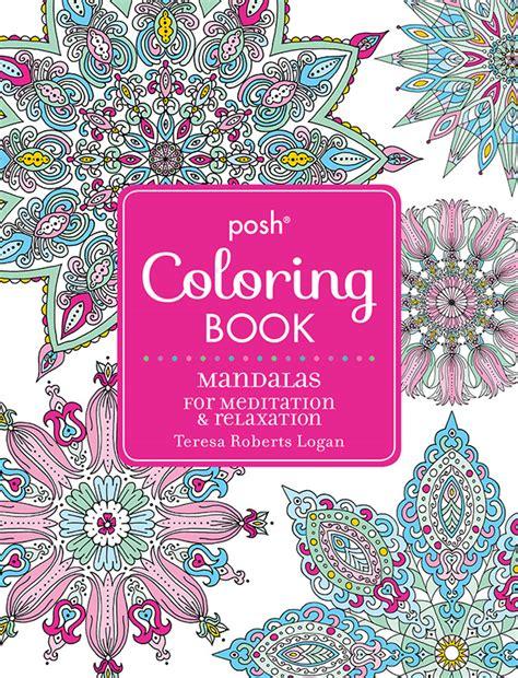 mandala coloring book store posh coloring studio store