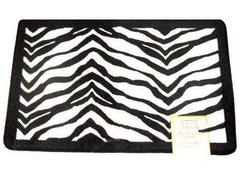 Zebra Bath Rug Popular Bath Zebra Stripe Bath Mat