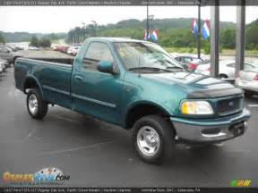 1997 Ford F150 Xlt 1997 Ford F150 Xlt Regular Cab 4x4 Pacific Green Metallic