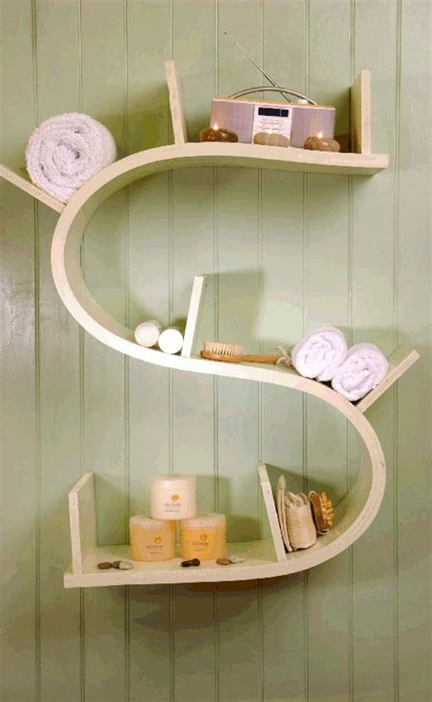 Unique Bathroom Shelves Cool Unique Bathroom Shelf Stylendesigns Interior Designs Shelf Ideas