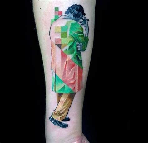 59 pixel tattoo designs that remind us how much we love