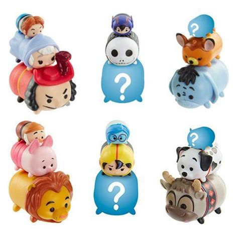 Tsum Tsum 4 jakks vinyl stacking tsum tsums disney series 4 and marvel series 2 now available for pre order