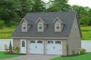 Modular Garages With Apartments by 28x32 Prefab Car Garage In Smithville Pa Traditional