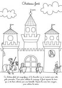 Coloriage De Chateau Avec Princesse L L L L L