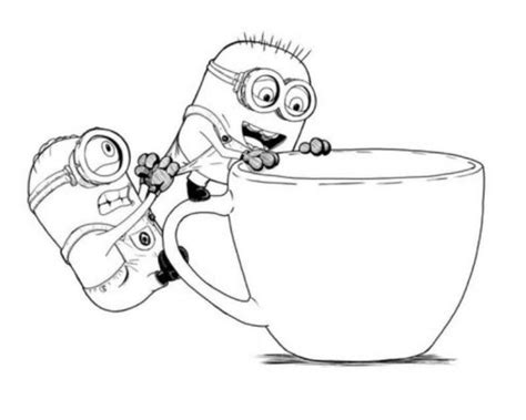 bad minion coloring page free coloring pages of purple minions