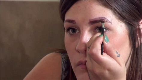 tattoo eyebrows wrong bodyshockers woman left with four eyebrows as permanent