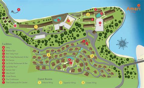 hotel spa layout layout of amari phuket beachfront resort spa on patong