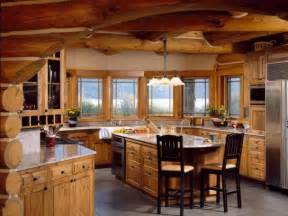 Log Cabin Kitchen Designs Log Home Living