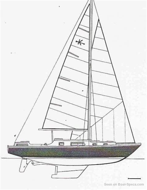 sailboat dimensions kirk amel sailboat specifications and details on boat