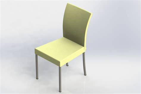 Stuhl 3d Modell by Diner Chair Stoel Stuhl Silla Chaise