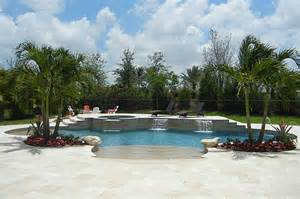 Backyard Deck And Pool Designs New Pool And Spa Construction Palm Beach And West Palm