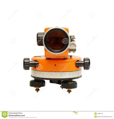 layout of building using theodolite building theodolite royalty free stock image image 18385136