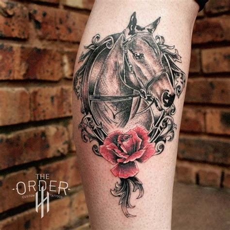 horse and rose tattoos 115 best images about the order custom tattoos tattoos