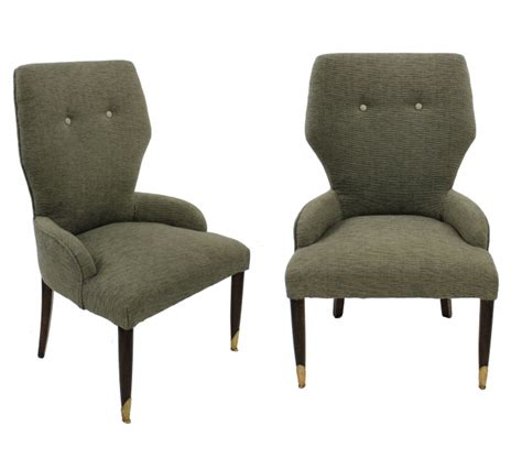 pair italian bedroom chairs