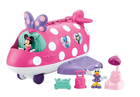 pink toy pink minnie mouse jet airplane toys