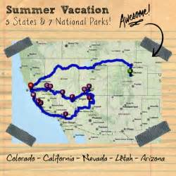 usa map arizona utah this trip itinerary is one that we did in the summer of
