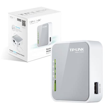 Wifi Router Tp Link Tl Mr3020 tp link tl mr3020 portable 3g 4g wireless n router 5053106806460 ebay