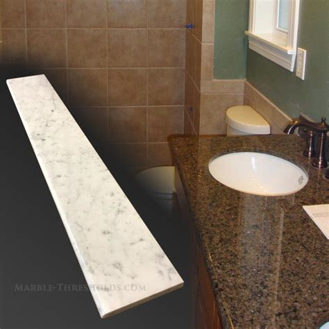 marble threshold bathroom marble thresholds for bathroom renovations marble