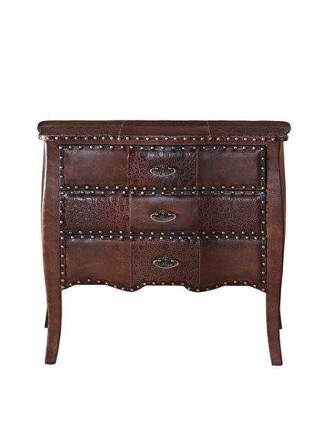 3 Drawer Bombe Chest by Powell Expedition 3 Drawer Bombe Chest By Oj Commerce 491