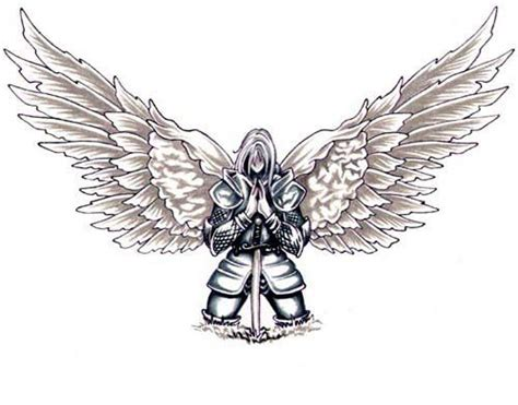 angel warriors of god deviantart more like angel tattoo