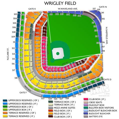 wrigley field concert seating wrigley field tickets wrigley field seating chart