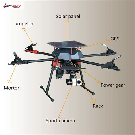 Drone Gps alibaba top performing flight time gps professional solar drone with hd and gps