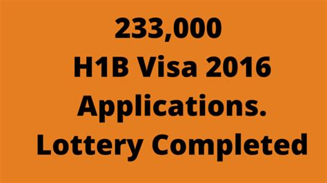 You Can Do As An Mba H1b by 233 000 H1b Visa 2016 Applications Can You Believe That