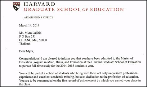 Mba Decline Letter Search Results For Harvard Acceptance Letter Template Calendar 2015