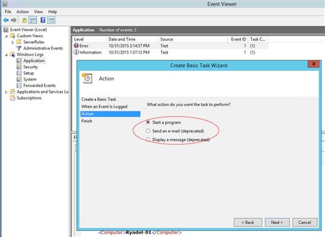 email viewer event viewer how to send e mail notifications with powershell