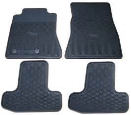 Mustang Floor Mats 2015 2016 2017 Ford Mustang All Weather Floor Mats Package