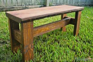 How To Make A Rustic Bench Pdf Diy Simple Rustic Bench Plans Download Simple Bluebird