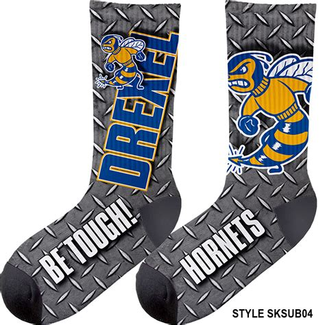 Dye Sublimated Light Weight Crew Socks Pro Tuff Decals Sock Sublimation Template