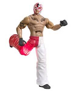 Wwe rey mysterio action figure white red one size ebay