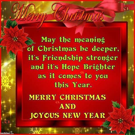 merry christmas quotes  friends     merry christmas joyous  year nollywood