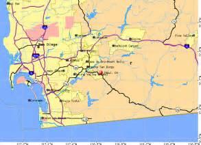 jamul california map
